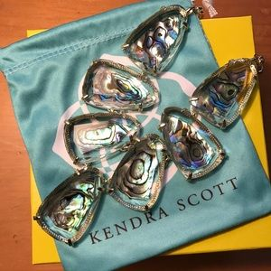 Kendra Scott NEW Abalone Harlow Necklace